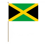 Jamaica Country Hand Flag - Large.